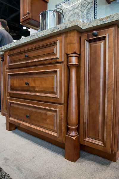 Elegant Brown Cabinet Drawers